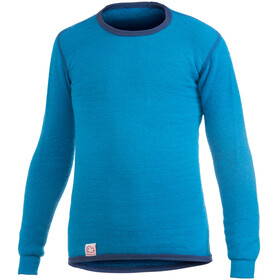 Woolpower 200 Crewneck Kids dolphin blue